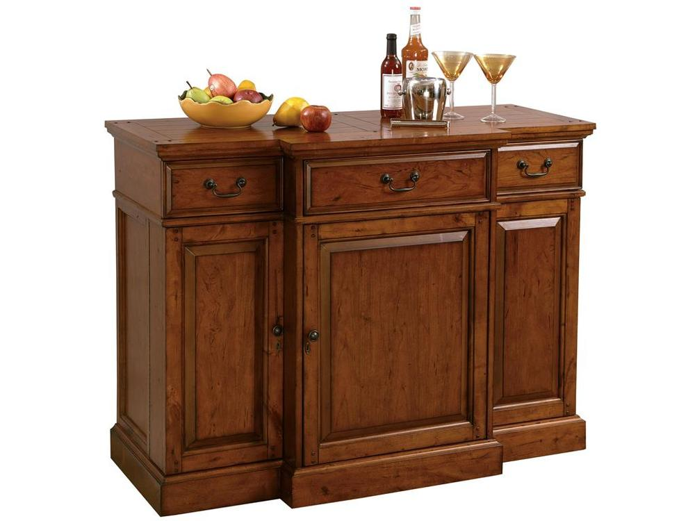 Howard Miller Clock - Shiraz Wine Cabinet