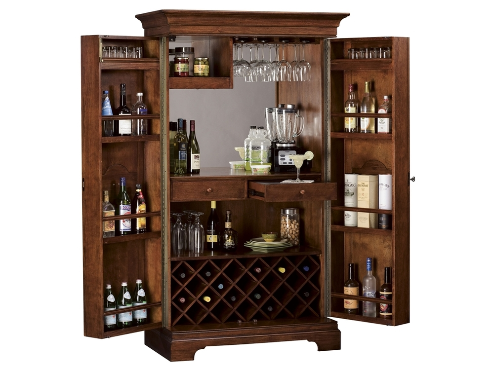 Howard Miller Clock - Barossa Valley Wine Cabinet