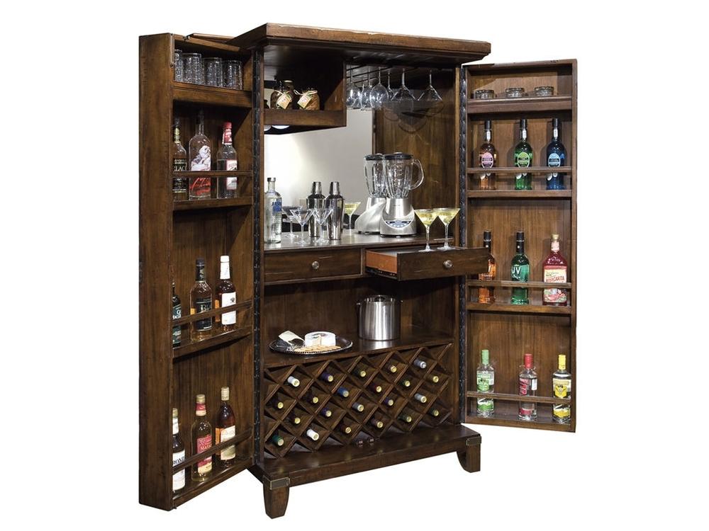 Howard Miller Clock - Rogue Valley Wine Cabinet