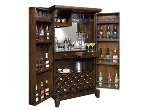 Thumbnail of Howard Miller Clock - Rogue Valley Wine Cabinet