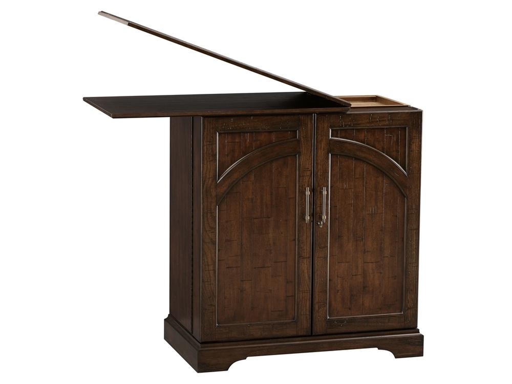 Howard Miller Clock - Benmore Valley Wine/Bar Cabinet