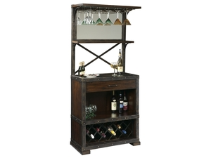 Thumbnail of Howard Miller Clock - Red Mountain Wine Cabinet