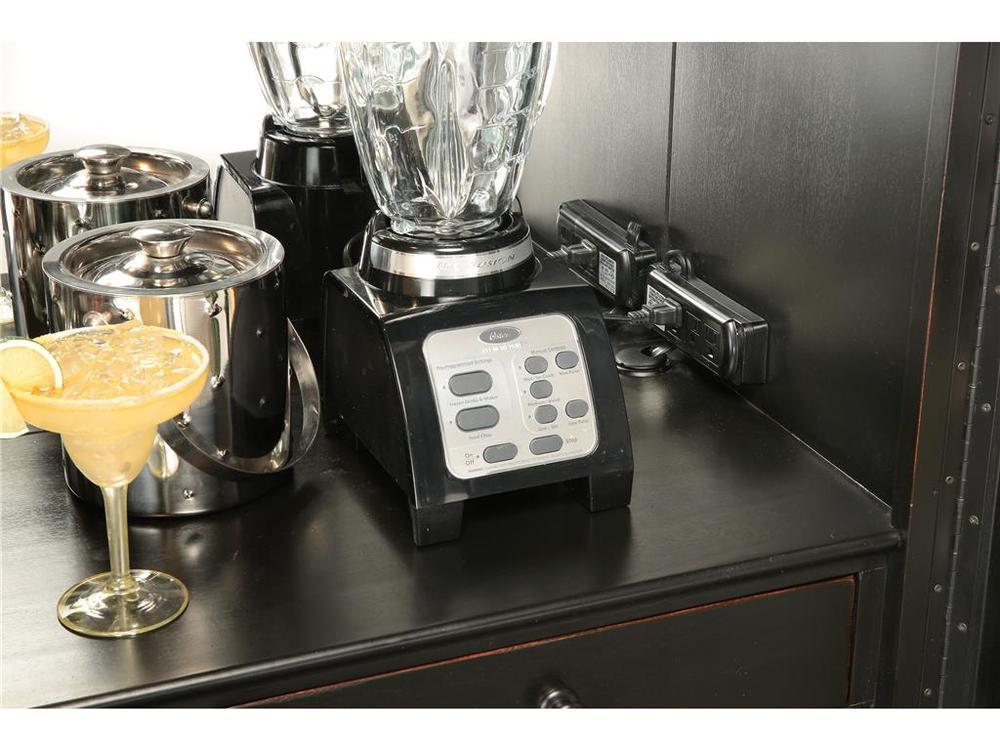 Howard Miller Clock - Sambuca Wine/Bar Cabinet