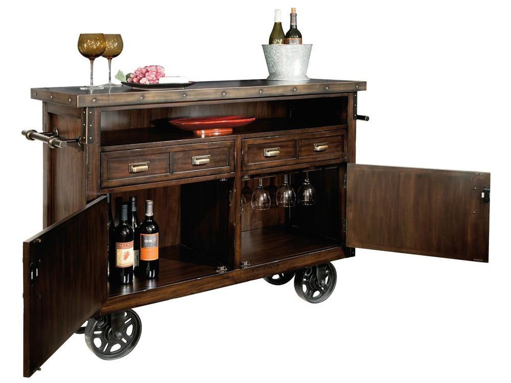 Howard Miller Clock - Barrow Wine/Bar Cabinet