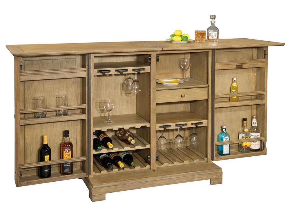 Howard Miller Clock - Walker Bay Console Wine Cabinet