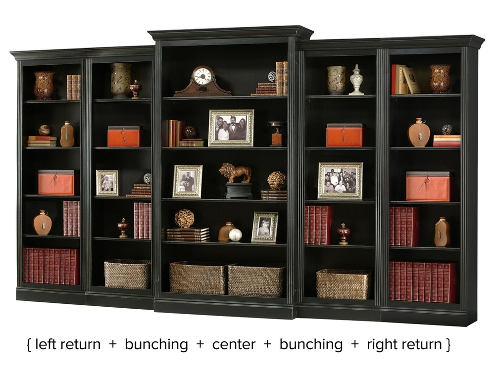Howard Miller Clock - Oxford Bunching Bookcase