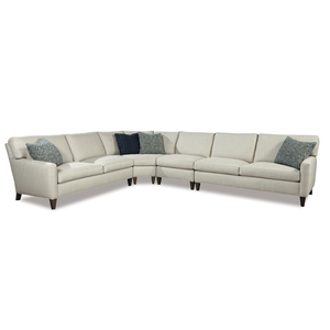 Thumbnail of Huntington House - Timeless Modern Round Corner Four Piece Sectional