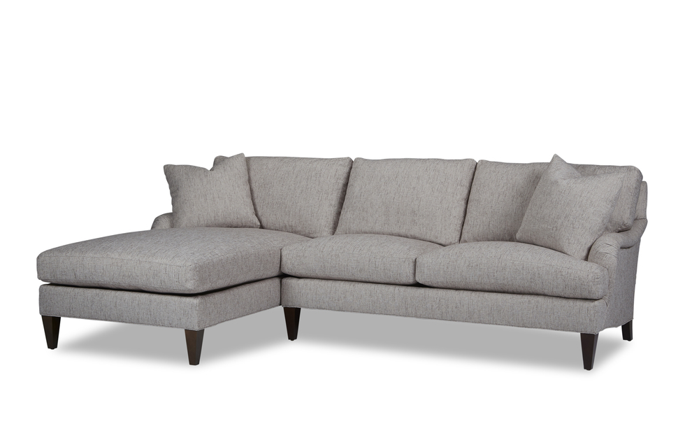 Huntington House - Timeless Traditional Chaise Sectional