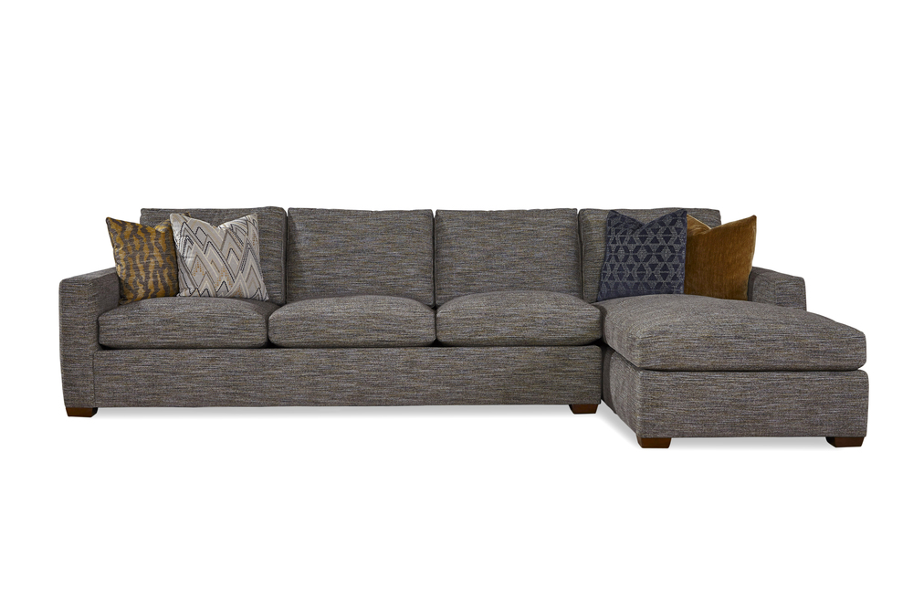 Huntington House - Lounge Mod-Luxe Chaise Sectional
