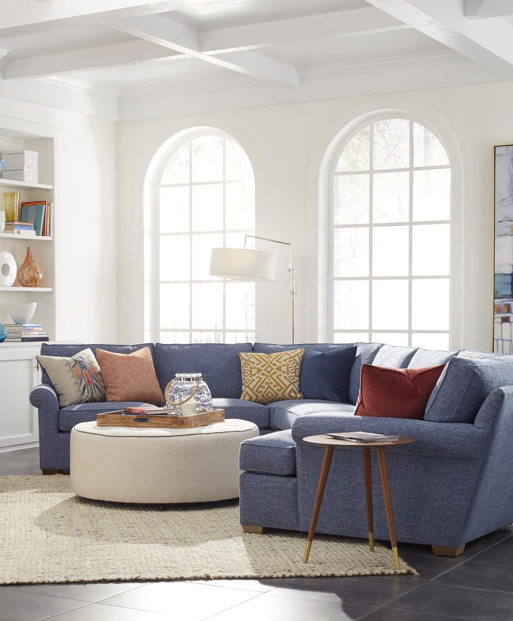 Huntington House - Colton Five Piece Sectional