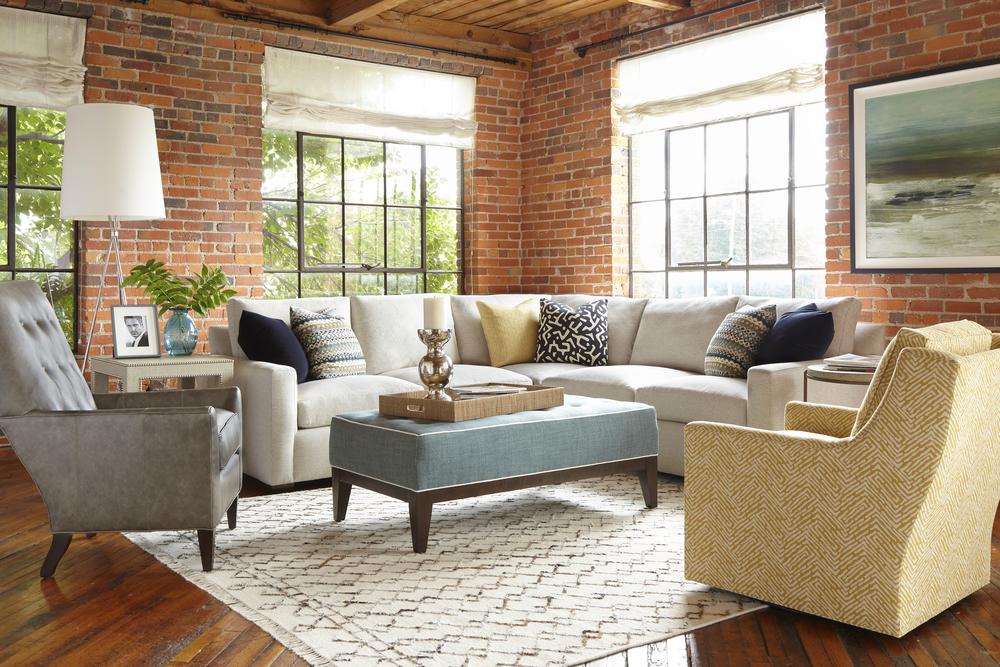 Huntington House - Lounge Mod Cuddle Chaise Sectional