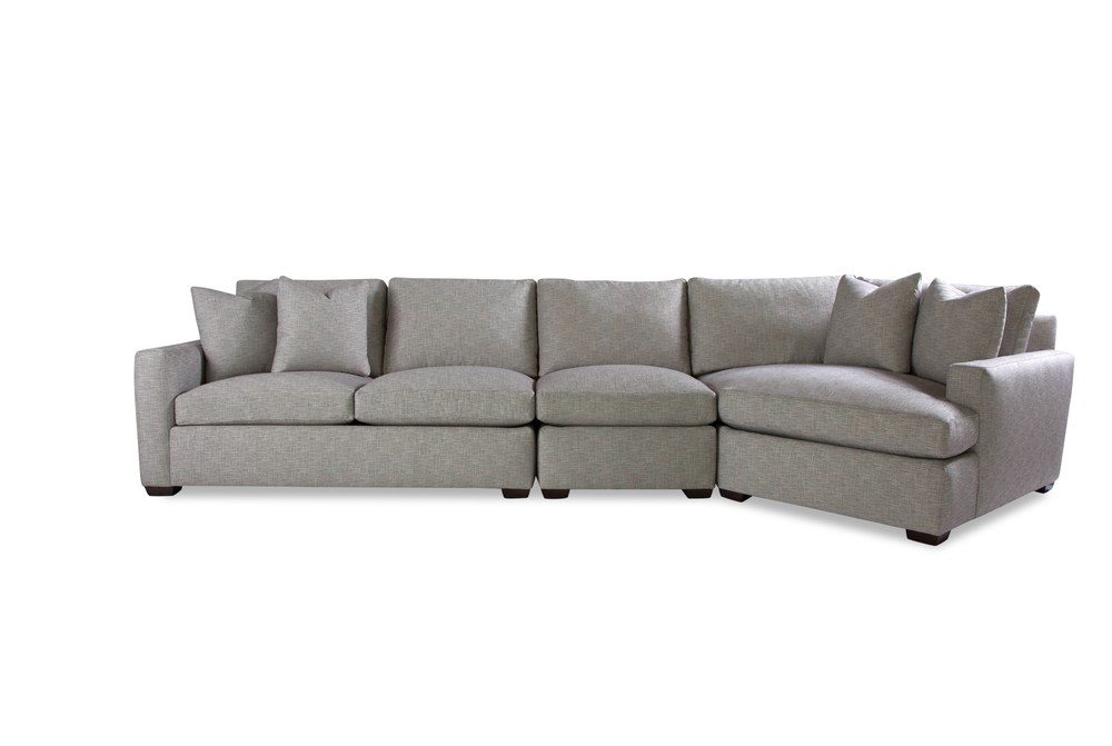 Huntington House - Lounge Mod-Luxe Cuddle Chaise Sectional