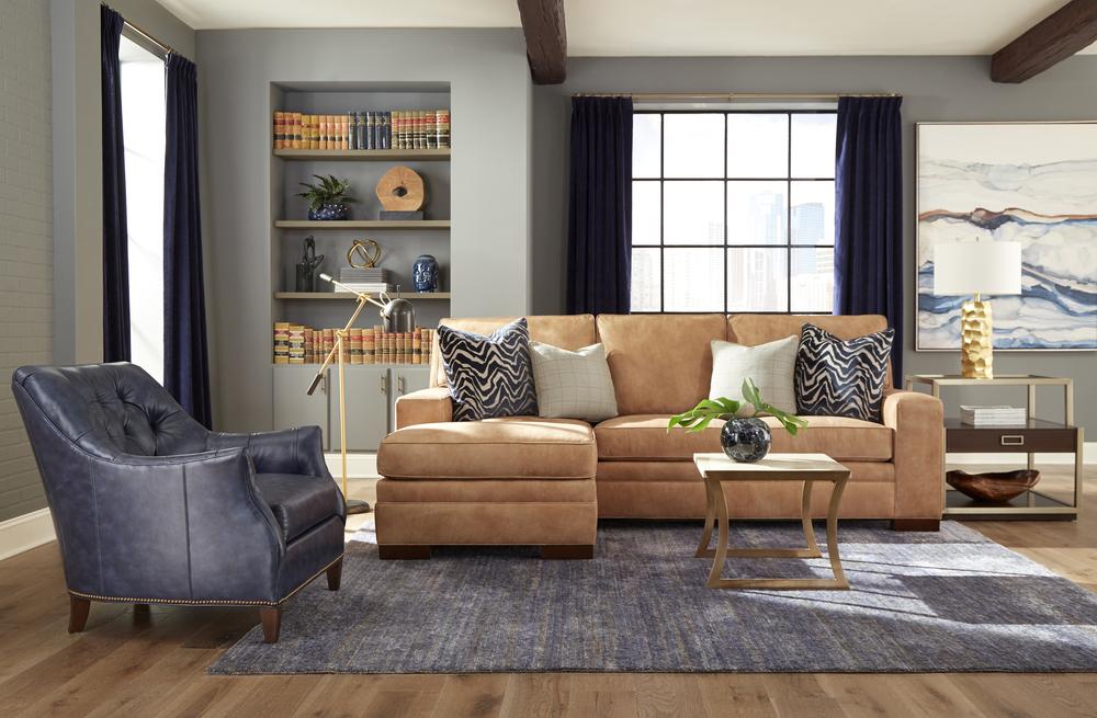 Huntington House - Unwind Sofa and Chottoman