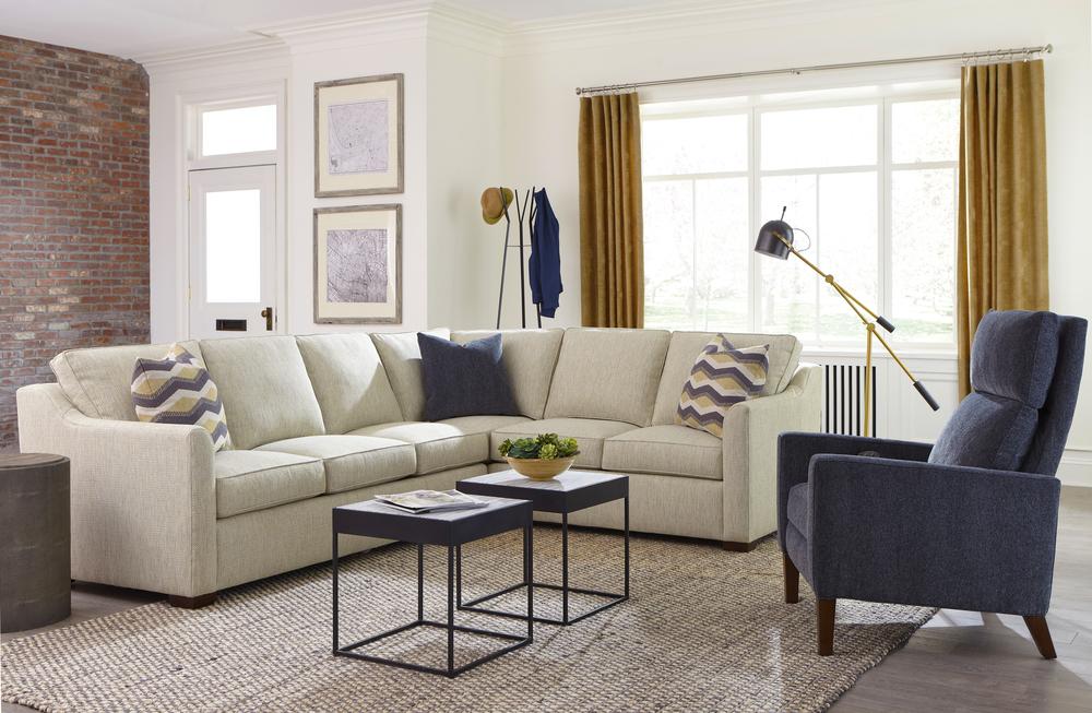 Huntington House - Elements Tux Corner Sofa Sectional
