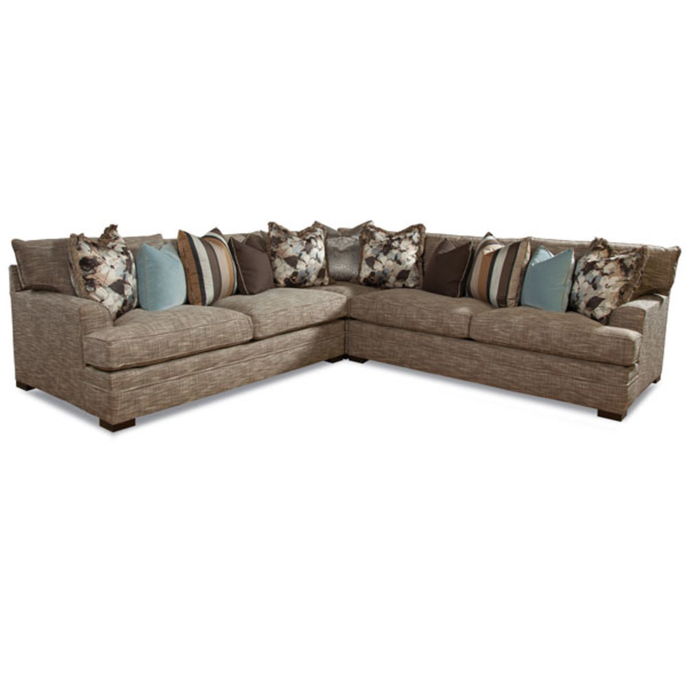 Huntington House - 7100 Series Two Loveseat and Corner Sectional