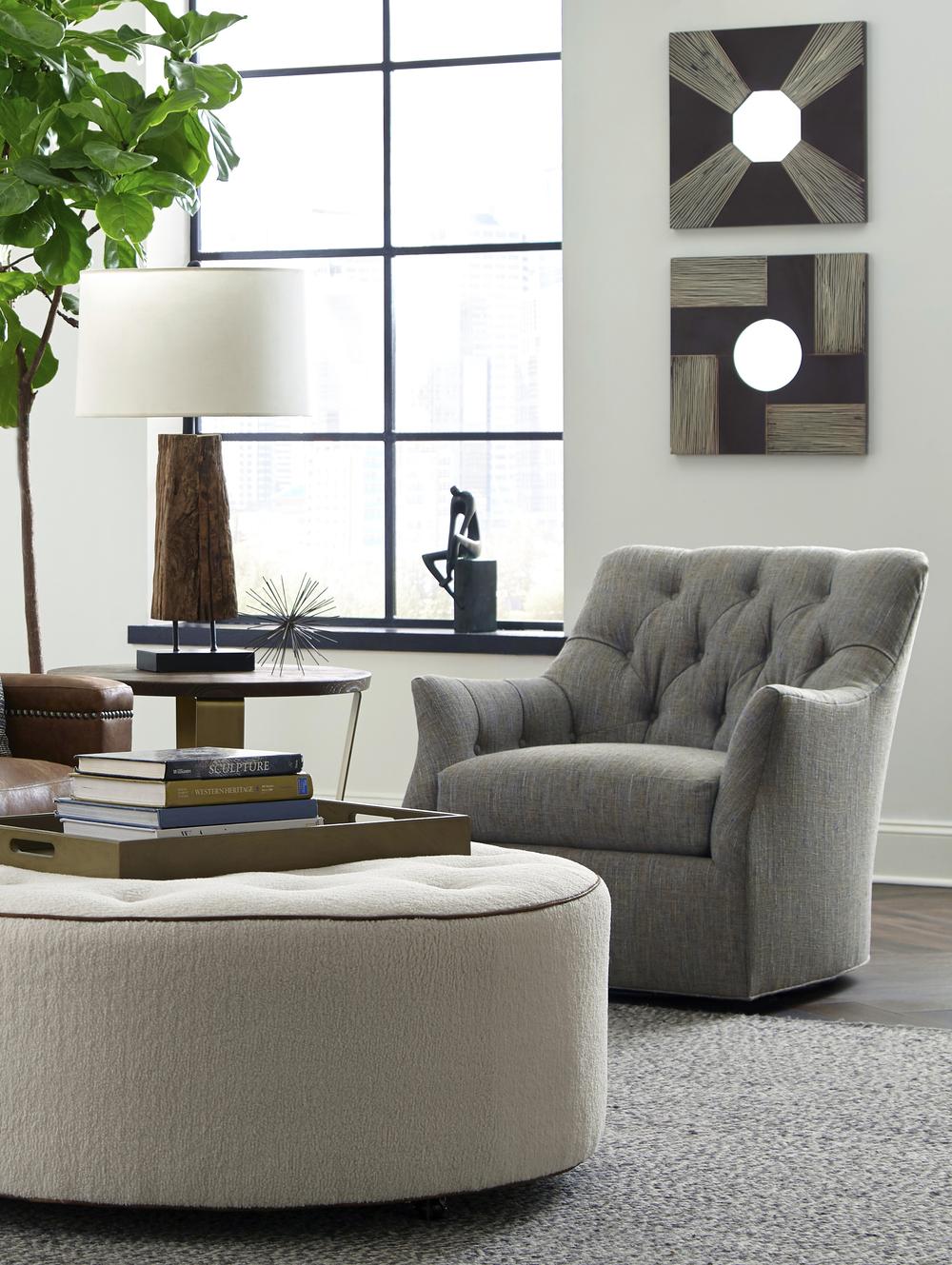 Huntington House - Chesapeake Swivel Chair