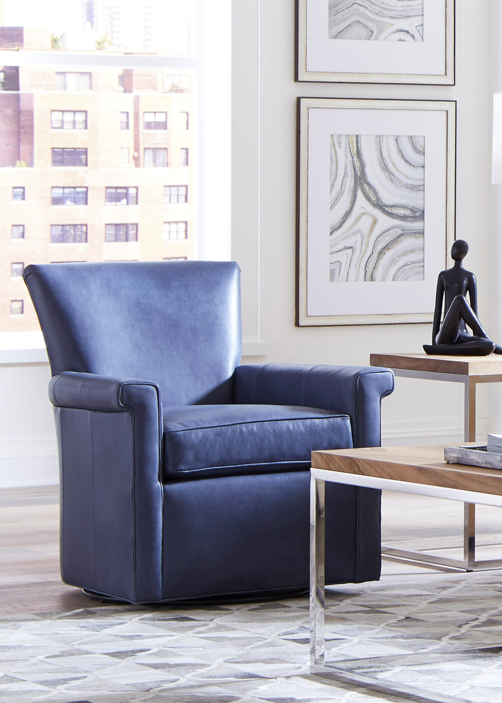 Huntington House - Julian Swivel Chair
