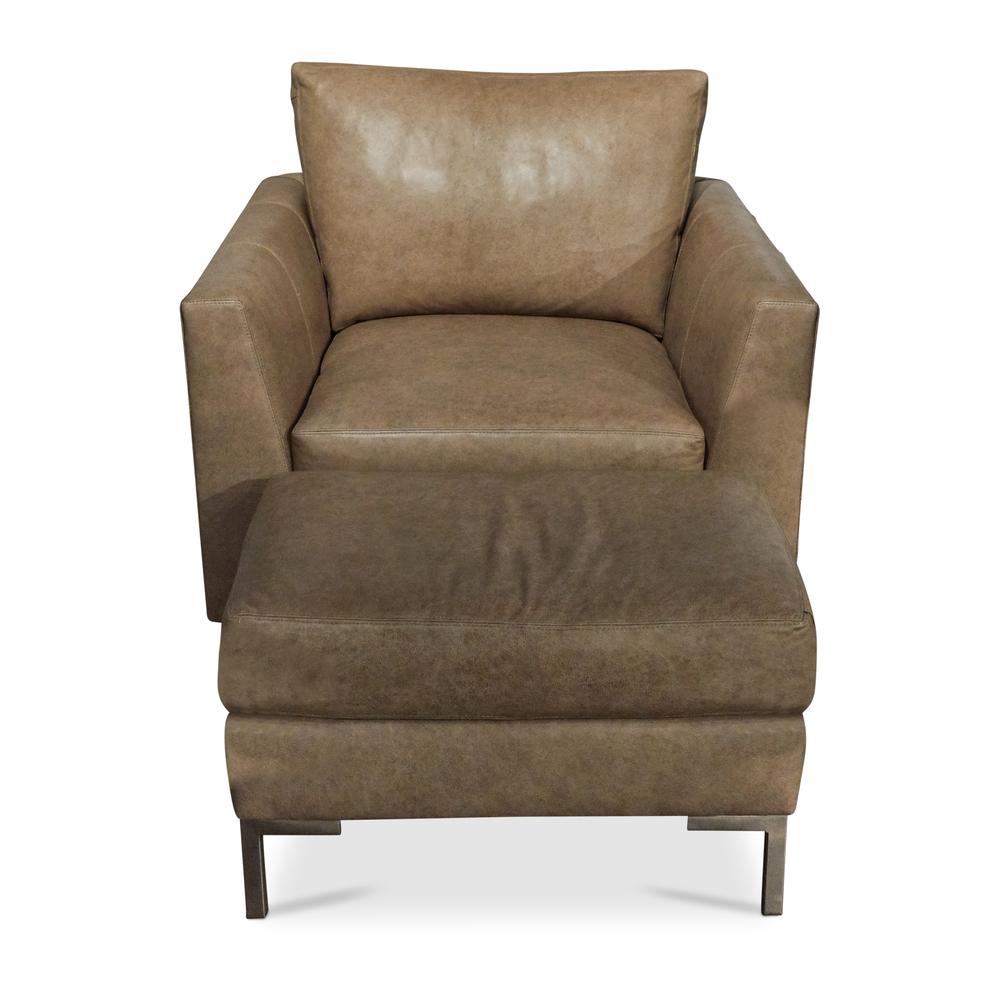Huntington House - Chair and Ottoman