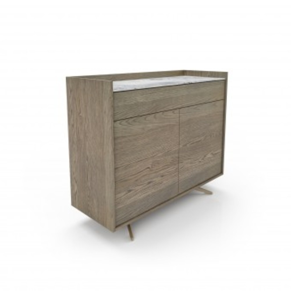 Huppe - Sideboard w/ Natural Stone