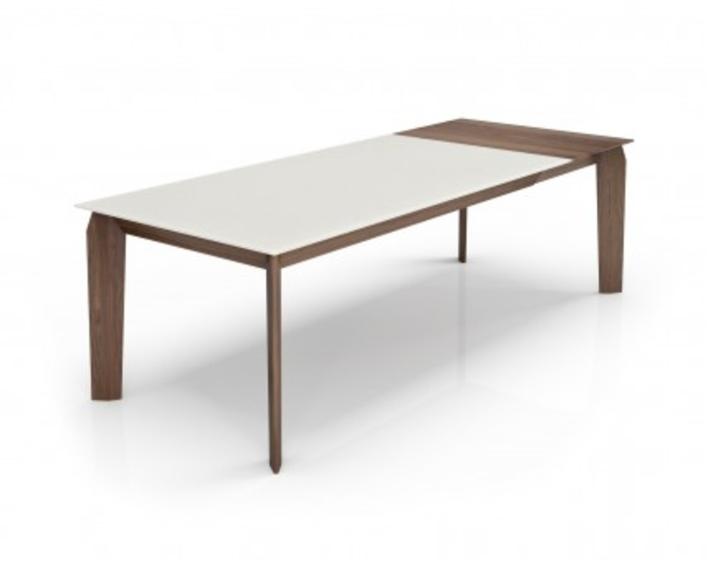 Huppe - Table Lacquered Glass Top w/ Extension