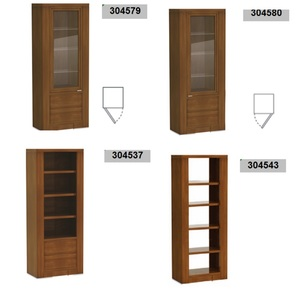 Thumbnail of Hurtado - Even Bookcase with Drawers
