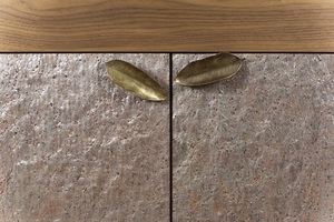 Thumbnail of Hurtado - Coral Credenza with Stone on Front of Doors
