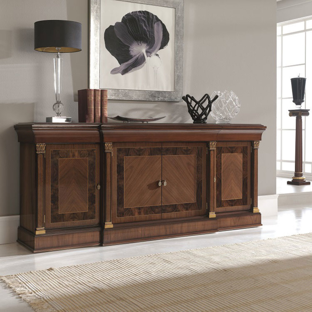 Hurtado - Merlin Credenza with Four Doors