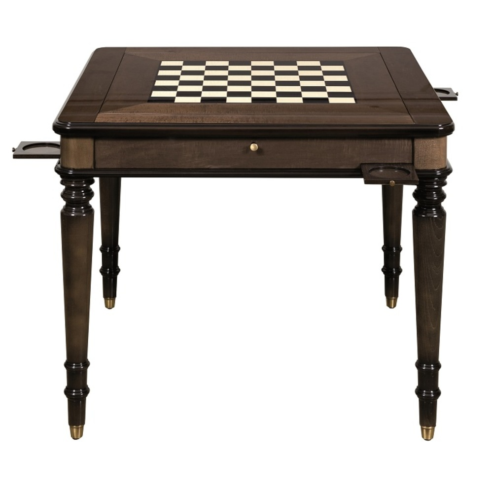 Hurtado - Game Table with Backgammon & Chessboard