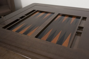 Thumbnail of Hurtado - Game Table with Backgammon & Chessboard
