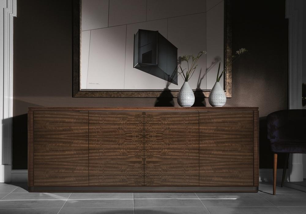 Hurtado - Santa Barbara Credenza with Wooden Top & Wooden Front