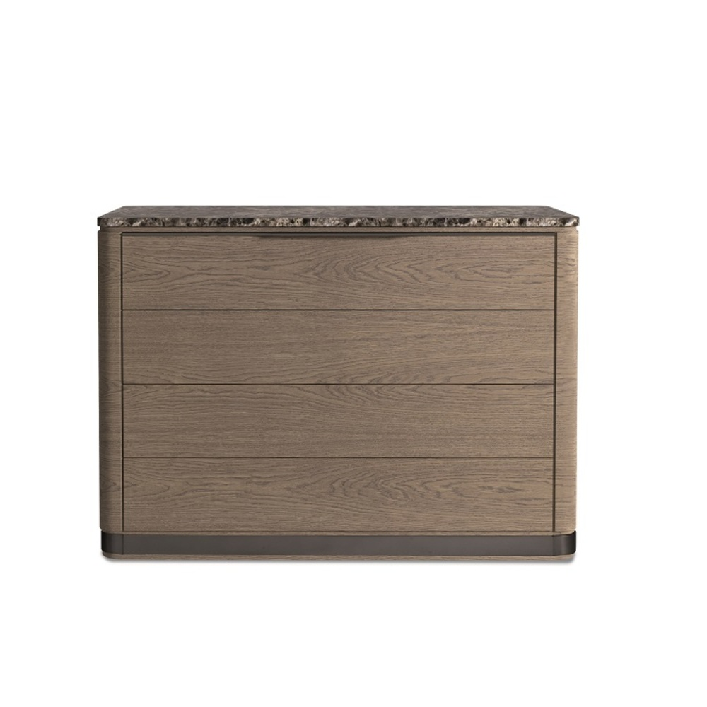Hurtado - Santa Barbara Chest with Wooden Top & Wooden Front