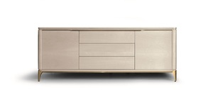 Thumbnail of Hurtado - Soho Credenza with Wooden Top & Wooden Front