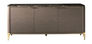 Thumbnail of Hurtado - Soho Credenza with Marble & Wooden Front