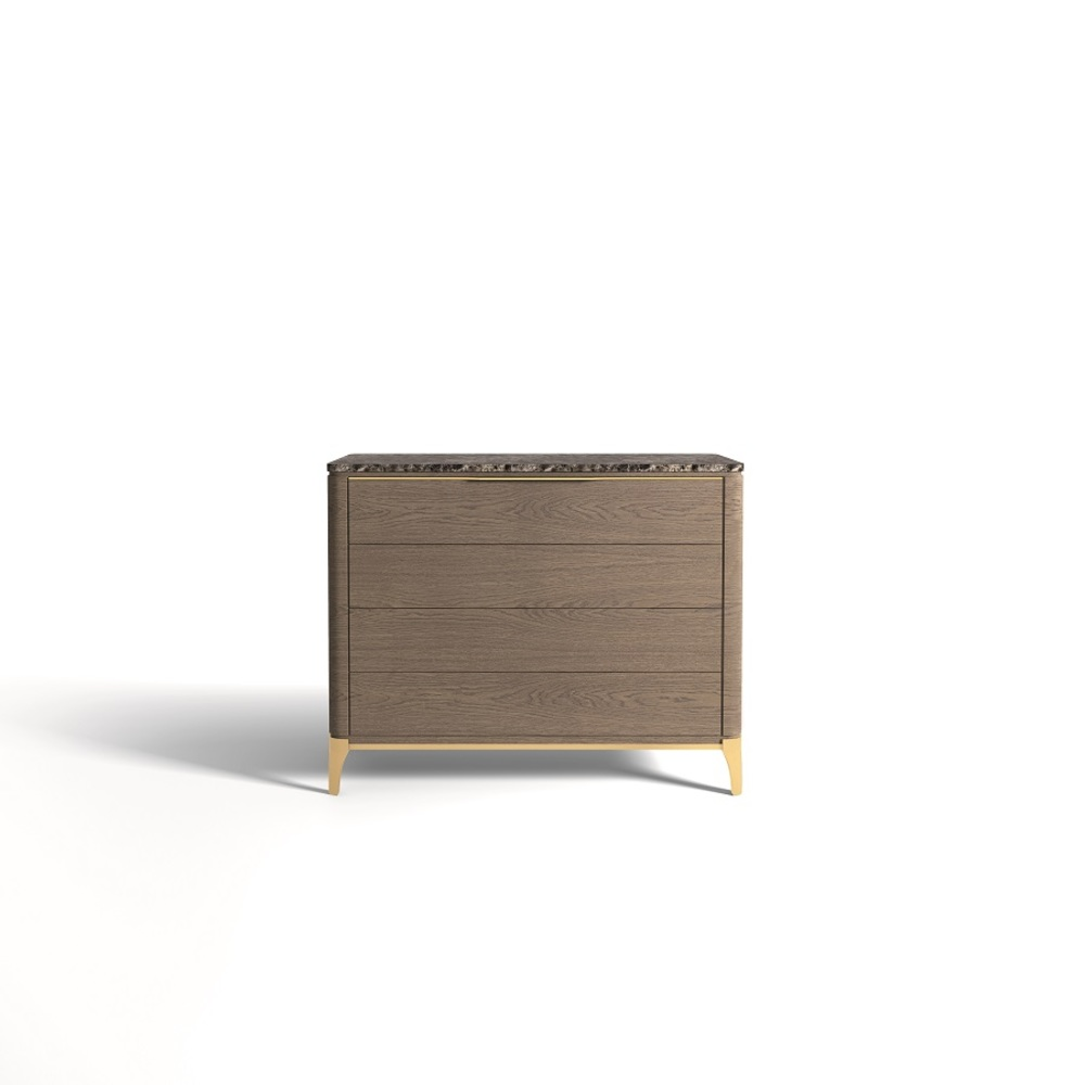 Hurtado - Soho Chest with Wooden Top & Wooden Front