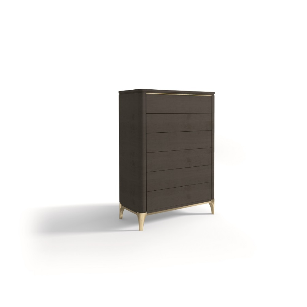 Hurtado - Soho Chiffonier with Wooden Top & Wooden Front