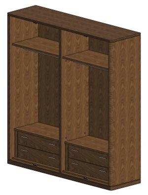 Thumbnail of Hurtado - Soho Four Door Wardrobe