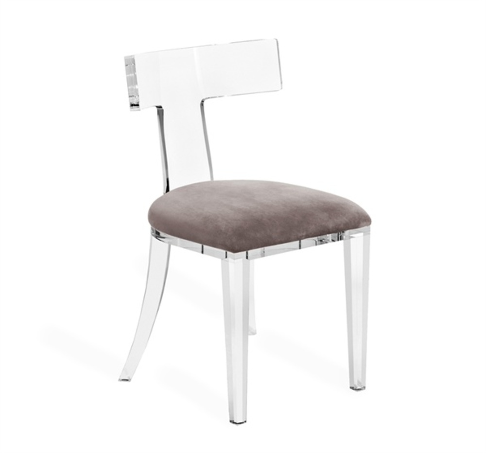 Interlude Home - Tristan Acrylic Klismos Chair
