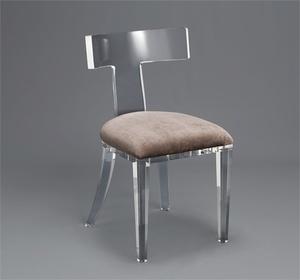 Thumbnail of Interlude Home - Tristan Acrylic Klismos Chair