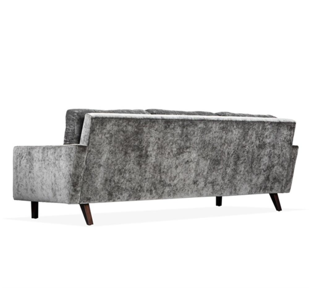 Interlude Home - Aventura Two Arm Sofa, Gray