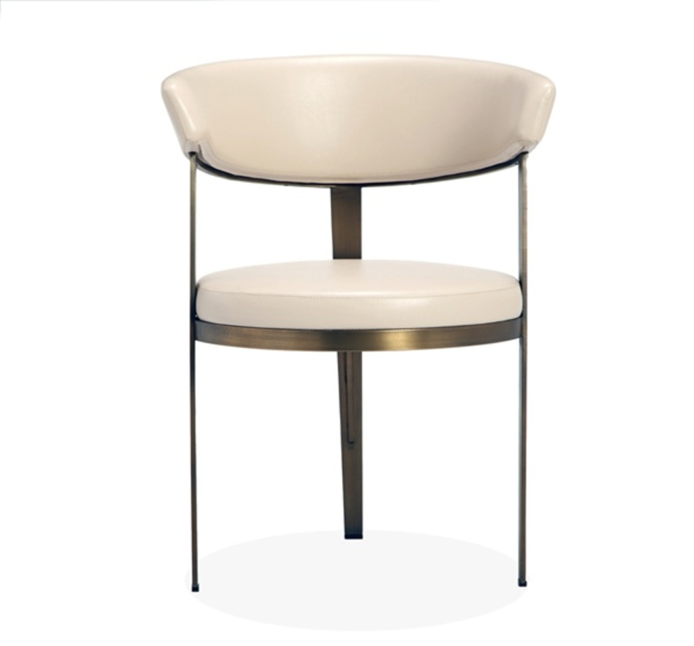 Interlude Home - Adele Dining Chair, Cream
