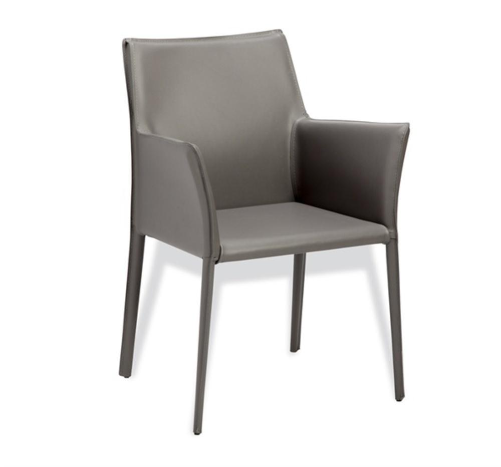 Interlude Home - Jada Arm Chair, Gray