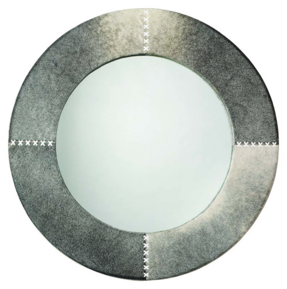 Jamie Young - Round Cross Stitch Mirror