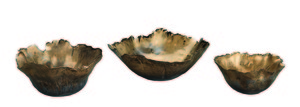 Thumbnail of Jamie Young - Fleur Ceramic Bowls, Set/3