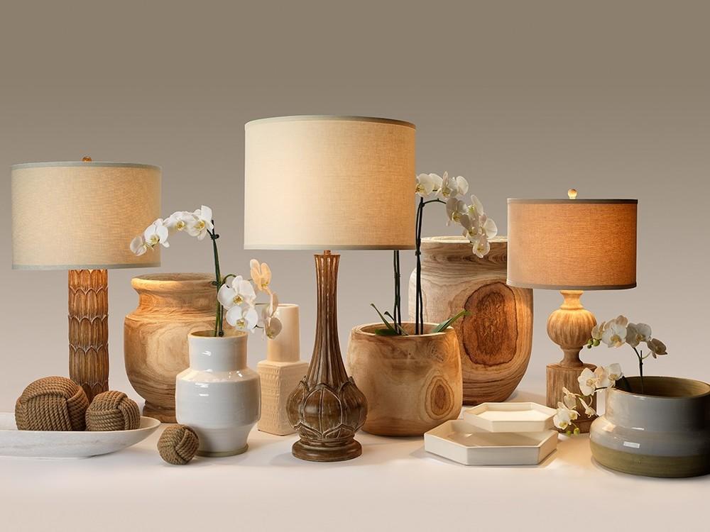 Jamie Young - Laguna Wooden Vase