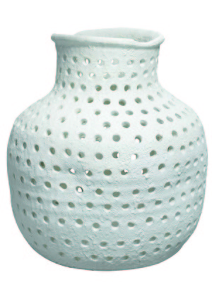 Thumbnail of Jamie Young - Porous Matte White Vase