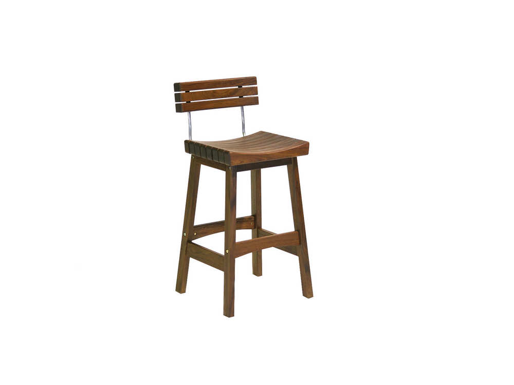 Jensen Leisure Furniture - Sunset Bar Stool with Back