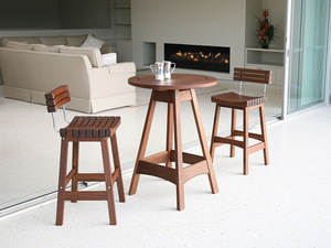 Thumbnail of Jensen Leisure Furniture - Sunset Bar Stool with Back