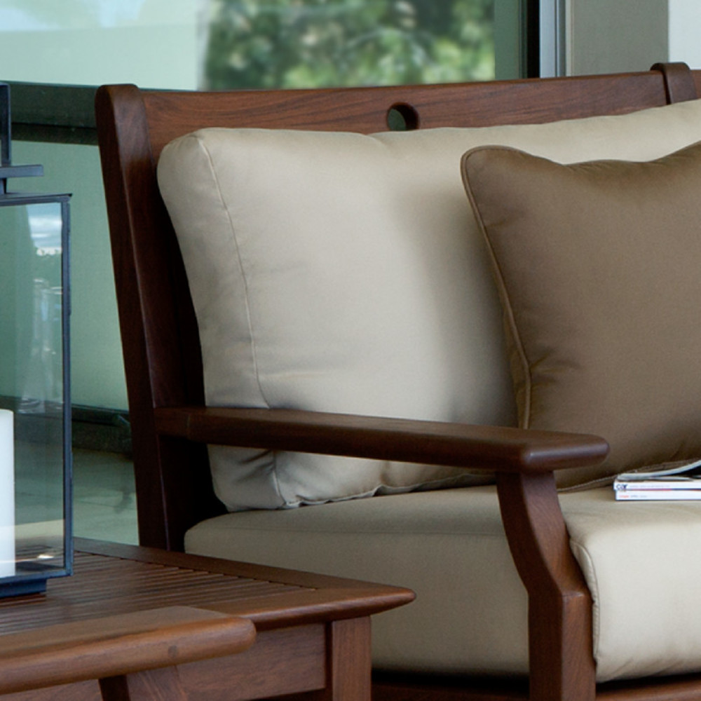 Jensen Leisure Furniture - Loveseat with Low Back Cushions