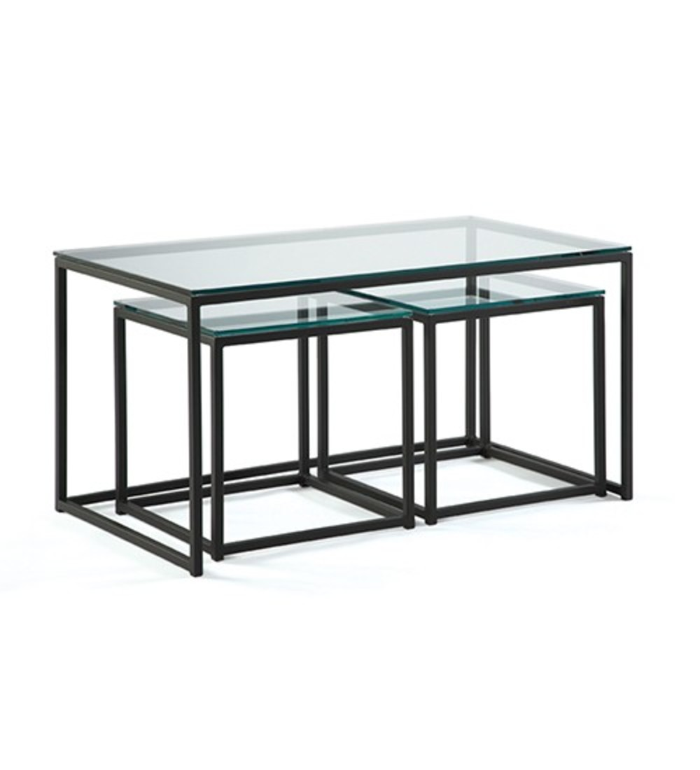 Johnston Casuals - Cubic Nesting Cocktail Tables