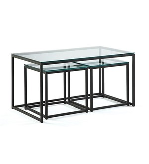 Thumbnail of Johnston Casuals - Cubic Nesting Cocktail Tables